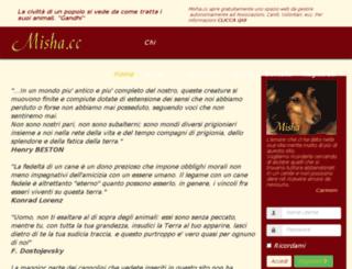 misha.cc screenshot