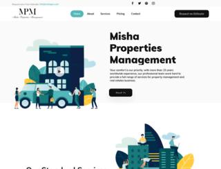 mishapm.com screenshot
