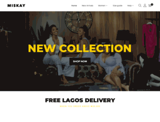 miskayboutique.com screenshot