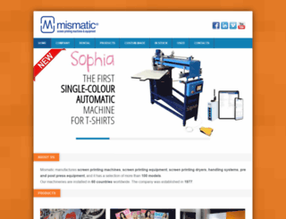 mismatic.com screenshot