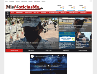 misnoticias.mx screenshot