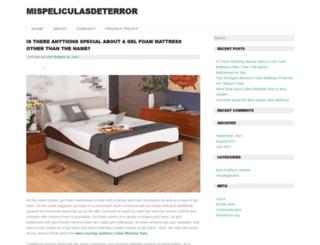 mispeliculasdeterror.com screenshot