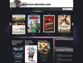 mispelis.orgfree.com screenshot