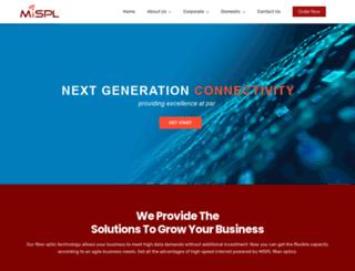 mispl.pk screenshot