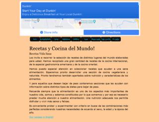 misrecetas.org screenshot