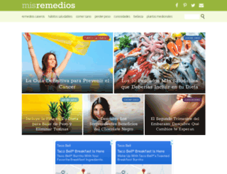 misremedios.com screenshot