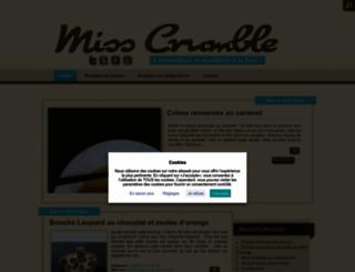 miss-crumble.fr screenshot