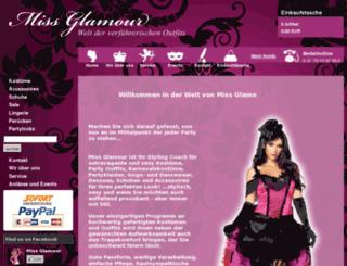 miss-glamour.de screenshot