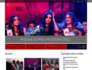 miss.hr screenshot