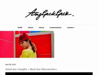 missanggeckgeck.blogspot.com screenshot