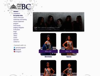 missbc.ca screenshot