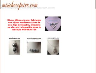 misschocopoire.com screenshot