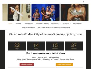 missclovis.org screenshot