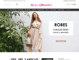 misscoquines.com screenshot