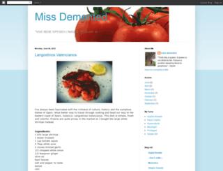 missdemented.blogspot.com screenshot