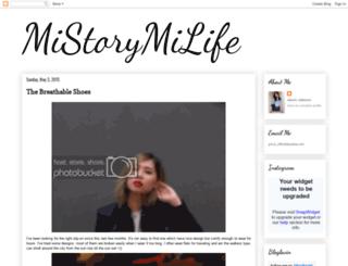 missgricia.blogspot.com screenshot