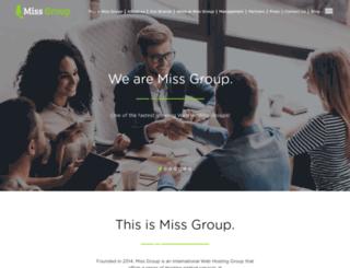 missgroup.com screenshot