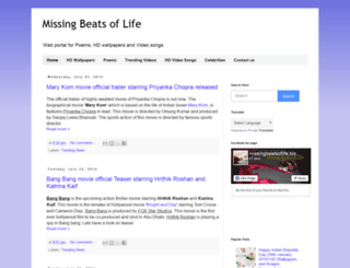 missingbeatsoflife.blogspot.in screenshot