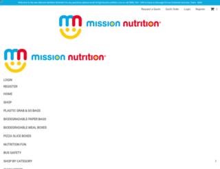 mission-nutrition.com screenshot