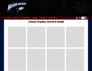 missionawards.com screenshot