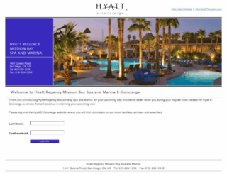 missionbay.hyatte-concierge.com screenshot