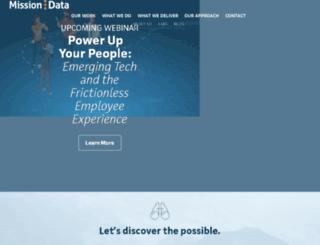missiondata.net screenshot