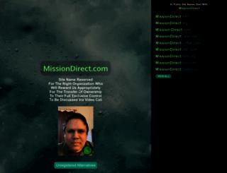 missiondirect.com screenshot