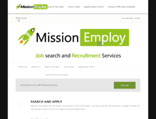 missionemploy.co.uk screenshot