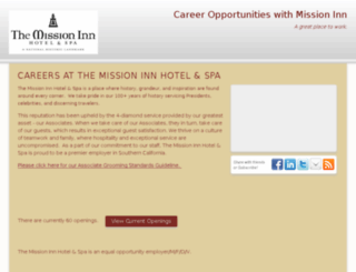 missioninn.hrmdirect.com screenshot
