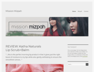 missionmizpah.wordpress.com screenshot