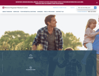 missionrmc.org screenshot