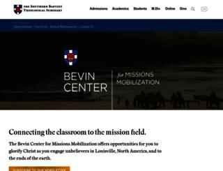 missions.sbts.edu screenshot