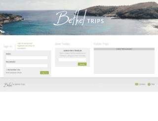 missiontrips.ibethel.org screenshot