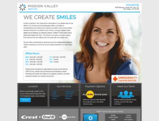 missionvalleydentists.smilegeneration.com screenshot