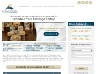 missionviejoblog.massageheights.com screenshot