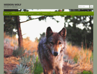 missionwolf.org screenshot