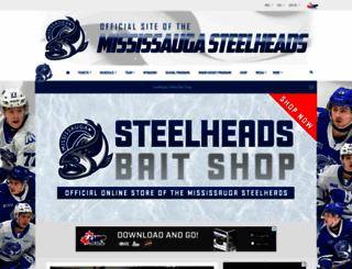 mississaugasteelheads.com screenshot