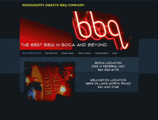mississippisweetsbbq.com screenshot