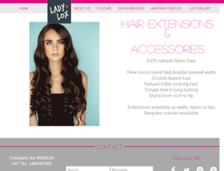 missladylox.co.uk screenshot