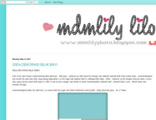misslilyphoto.blogspot.com screenshot