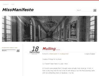 missmanifesto.com screenshot