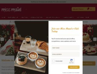 missmaud.com.au screenshot