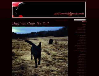 missmuddypaw.com screenshot