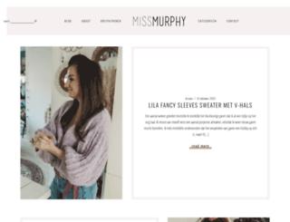 missmurphy.nl screenshot