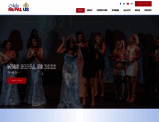 missnepalus.com screenshot