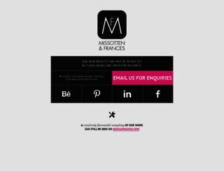 missottenandfrances.com screenshot
