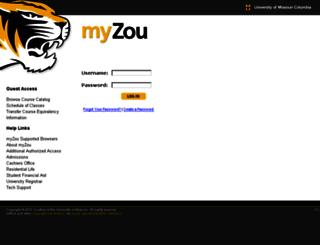 missouri.collegescheduler.com screenshot