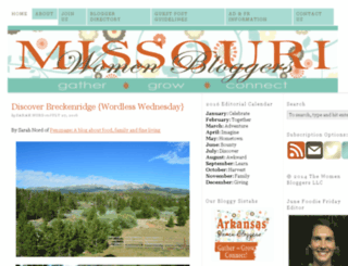 missouriwomenbloggers.com screenshot