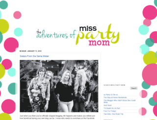 misspartymom.blogspot.com screenshot