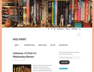 missprint.wordpress.com screenshot